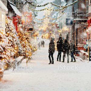 Vacances en hiver au Canada