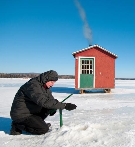 Pêche sur glace Canada