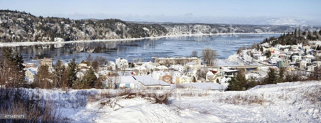 Vacances en hiver au Saguenay